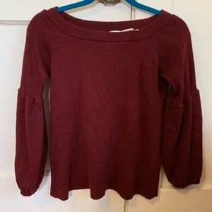 Urban Outfitters Maroon Sweater